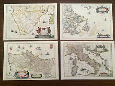 "Vatican City 1997 Set of 4 Mint Postcards ""Geographical Discoveries"""