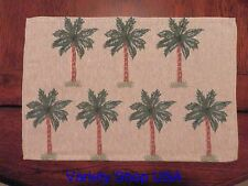 Tropical Palm Trees Placemat Tapestry Cloth Style E 1pc