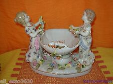 Coupe vide poche / Centre de table en Porcelaine Saxe ???