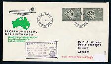80777) LH FF Francfort-Darwin Australie 6.4.65, sou à partir de la Finlande Auchinleck