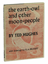 The Earth-Owl and Other Moon-People by TED HUGHES ~ First Edition 1963 ~ 1st