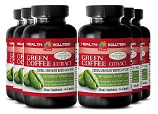6 Bot Appetite Suppressant Pure green coffee beans GREEN COFFEE EXTRACT 800