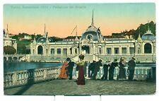 ESPOSIZIONE DI TORINO 1911 Padiglione del Brasile - fotocromo