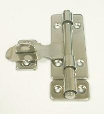 Professional Security Gate Door Latch Silver Barrel Bolt & Hasp Lock All in one