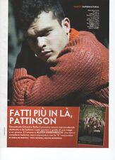 SP8 Clipping-Ritaglio 2013 Alden Ehrenreich Fatti più in là Pattinson