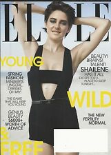 Elle magazine Shailene Woodley Spring fashion New fertility normal Death of eros