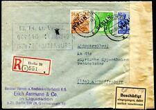 BERLIN 1948 13 etc R-BRIEF AMTLICH VERSCHLOSSEN (D4824