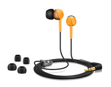 Sennheiser CX 215 Orange In-Ear Earphones Iconic Sound