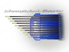10 x Wolframelektroden Grau WC20 2,4 x 175 zum WIG  DC-Schweißen Wolframnadeln