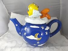 1999 Angel Tweety Bird Teapot Warner Bros  Studio Store
