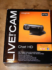 CREATIVE LABS 73VF070000000 Live! Cam Chat HD Webcam USB
