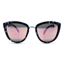 "NEW QUAY AUSTRALIA Black Tortoise/Pink ""MY GIRL"" Retro Cat Eye Sunglasses - SALE"