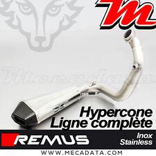 Ligne Complète échappement Remus Hypercone inox sans Cat KTM 690 Duke 4 2013
