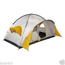 SWISS GEAR BREEZE 8 PERSON TWO ROOM 2 DOOR TENT 7' X 8' X 14' YELLOW WHITE NEW