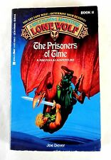 Lone Wolf #11: The Prisoners of Time CYOA Solo Adventure Gamebook Joe Dever