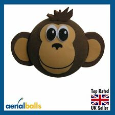 Cheeky Cute Brown Monkey Car Aerial Ball Antenna Topper