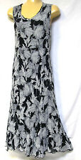 plus sz S / 16 VIRTUELLE TS TAKING SHAPE Etched Floral Dress stretch swing NWT!