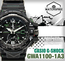 Casio G-Shock Aviation Series Gravity Defier Watch GWA1100-1A3 GW-A1100-1A3