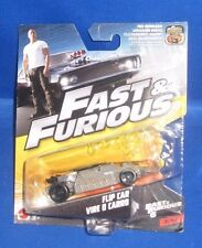 FAST & FURIOUS 6 MOVIE FLIP CAR VIRE O CARRO #3/32 MATTEL COLLECTIBLE, NEW