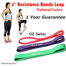 3pc Heavy Duty Resistance Bands Loop Power bands Gym banD Fitness Exercise bands