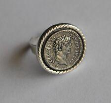 Caligula Roman Emperor & Augustus SPQR Empire Handmade Ring Resizable Sz 8 - 11