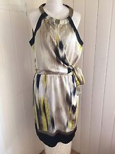 NEW ELIE TAHARI PURE SILK EVERYDAY SUMMER DRESS SIZE 12/14 US10