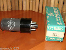 Vintage Arcturus Smoked 6V6  Stereo Tube Results = 77 #39274