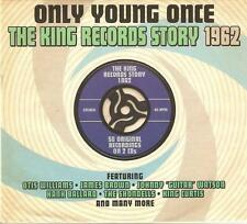 ONLY YOUNG ONCE THE KING RECORDS STORY 1962 - 2 CD BOX SET, OTIS WILLIAMS & MORE