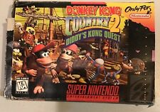 Donkey Kong Country 2: Diddy's Kong Quest Super Nintendo SNES Complete CIB