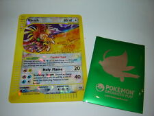 POKEMON TCG SKYRIDGE JUMBO BOX TOPPER #11/12 CRYSTAL HO-OH - VERY RARE AND HTF