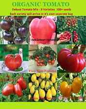 Deluxe Tomato Tomate -100+Seeds Mix 9 Varieties Giant Heirloom NON-GMO