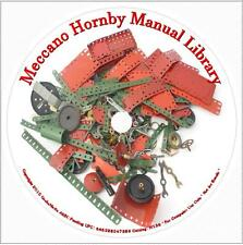 Meccano Hornby Manuals Complete DVD Archive hobby boys engineering toys trains
