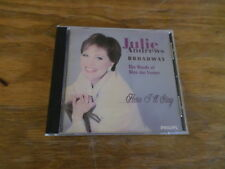 "Julie Andrews Broadway "" The Words of Alan Jay Lerner"" Here I'll Stay Used CD"