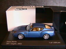 ASTON MARTIN DB7 ZAGATO METAL BLUE 2003 WHITEBOX WB030 1/43 BLEU MET LHD