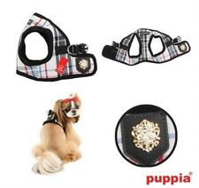 Puppia Choke Free Dog Harness - Vest - Junior Plaid B - Pick Size & Color