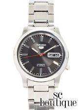 SEIKO 5 SNK795 Stainless Steel Black Dial Self Winding Automatic Men's Watch