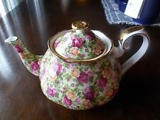 1999 Royal Albert Old Country Roses Chintz Tea Pot & Lid
