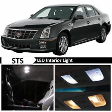 16x White Interior LED Lights Package Kit for 2006-2011 Cadillac STS + TOOL