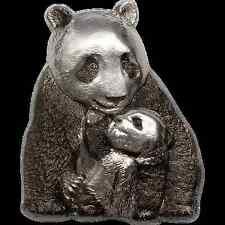 Vorverkauf! 20 $ 2017 Cook Island - Silver Lucky Panda / Riesenpanda