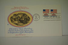 First Day Cover,Vignettes of Americana issued for new Postage Rates 1975,  FDC