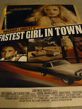 Miranda Lambert Danica Patrick 2012 Fastest Girl In Town Movie Poster