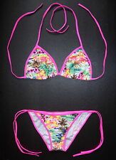 Sexy BIKINI Multi Coloured Floral Pattern Swimming Costume Beach Wear Swimsuit