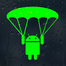 JDM goole sur le parachute Autocollant Vinyle Autocollant Voiture pour panneau fenêtre pare-chocs