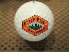 LOGO GOLF BALL-BLACK BEAR OF THE BLACK FOREST DELI AND MEATS