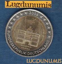 2 euro Commémo - Allemagne 2006 Lubeck F Stuttgart Germany