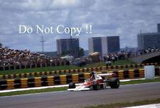 Emerson Fittipaldi McLaren M23 Argentine Grand Prix 1974 Photograph 1