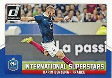 2015 Donruss Soccer 'International Superstars' #60 Karim Benzema France Madrid