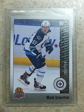 14-15 UD 25th Anniversary Base Silver Parallel SP #74 MARK SCHEIFELE /250