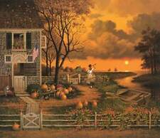 "Charles Wysocki "" Supper Call "" # 336/1250 1988 Mint W/Cert Rare"
