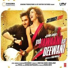 YEH JAWAANI HAI DEEWANI - BOLLYWOOD SOUNDTRACK CD - FREE POST